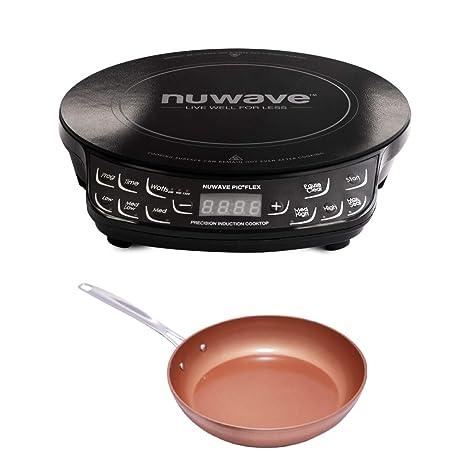 Amazon.com: Nuwave PIC FLEX Precison - Juego de sartenes ...