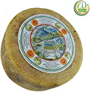 Pecorino Toscano PDO - Aged Sheep Cheese - Whole wheel 4 lbs/Kg. 1.8