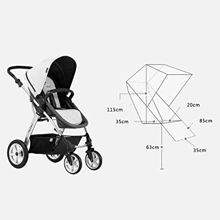 Amazon Com Stroller Baby Car Seat High Landscape Two Way Shock
