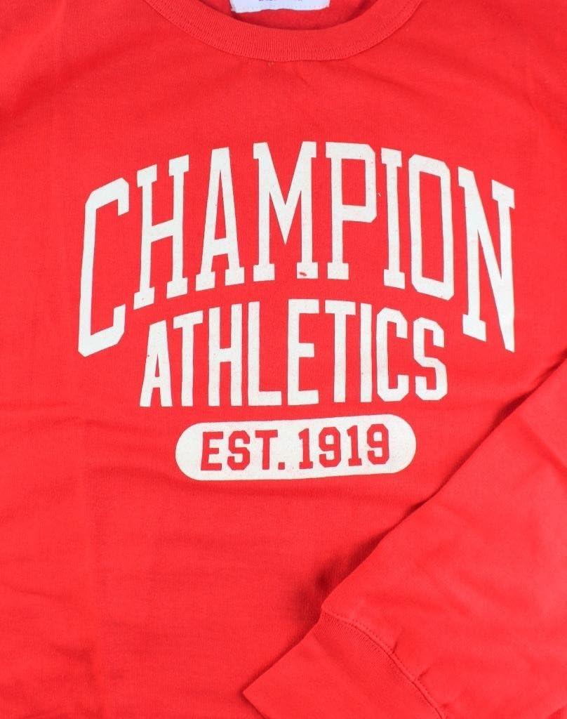 Champion Mens Big and Tall Graphic Heritage Fleece Sweatshirt