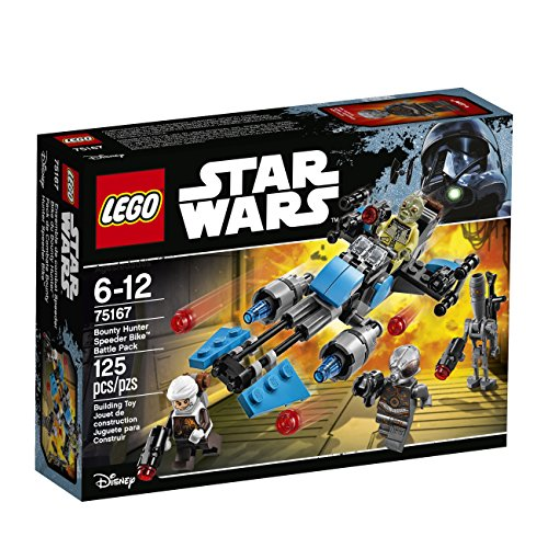 LEGO Star Wars Bounty Hunter Speeder Bike Battle Pack 75167 Building Kit ()