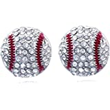 cocojewelry Sports Ball Post Stud Earrings Jewelry