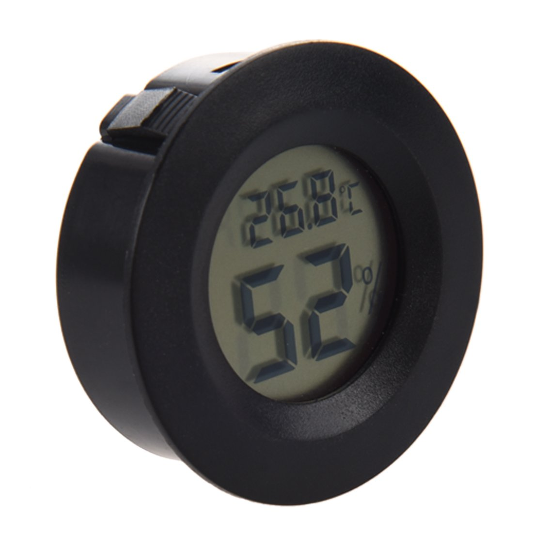 Thermometre - TOOGOO(R) Thermometre numerique Mini hygrometre hygrometre Celsius celsius (Noir)