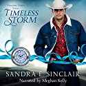 Timeless Storm: Timeless Hearts, Book 5 Audiobook by Timeless Hearts, Sandra E Sinclair Narrated by Meghan Kelly