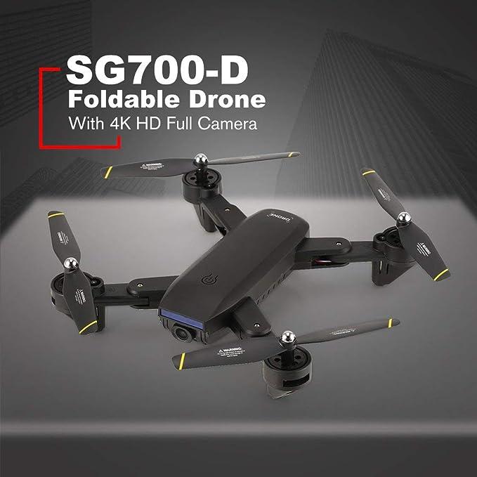 Gwendoll Drone SG700-D Plegable con cámara 4K HD Full Smart ...
