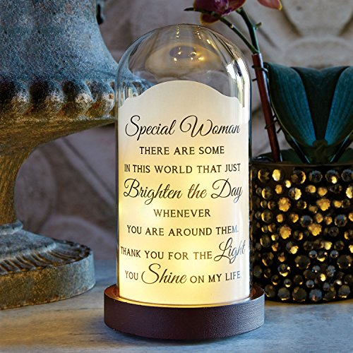 Special Woman LED Lighted Jar - Inspirational Message ()