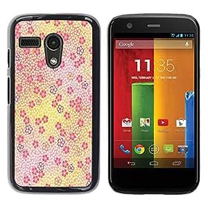 - Butterfly Design - - Hard Plastic Protective Aluminum Back Case Skin Cover FOR Motorola Moto G 1ST Gen XT1028 XT1031 Queen Pattern