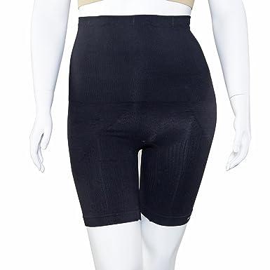 4ad584ef61 SANKOM Black Thigh Slimming Tummy Waist Control Posture Shaper Shapewear  with Aloe Vera Fibers S