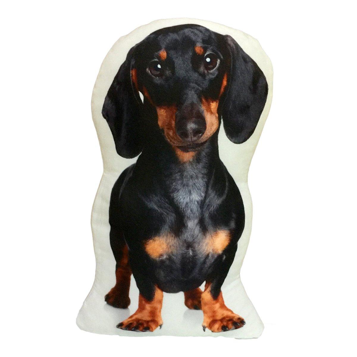 Dachshund Stuffed Weiner Hot Dog Throw Pillow Decorative Gift