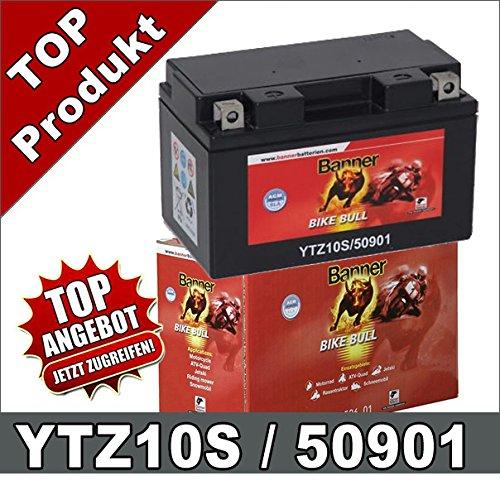 Motorrad Batterie YTZ10S 50901 GEL 9Ah 12Volt TTZ10S GTZ10S GTZ10-4 Banner