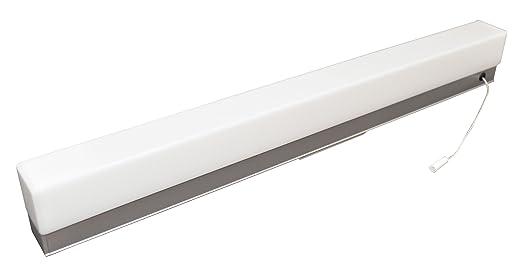 tibelec 312840 applique led avec interrupteur tirette plastique - Applique Cuisine Avec Interrupteur
