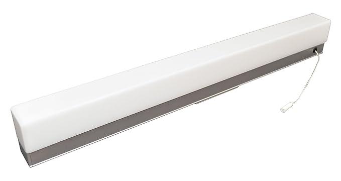 Tibelec lampada led da parete con interruttore a tirante w