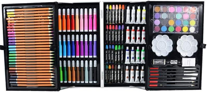 Kits de Pintura,Juego de lápices de Dibujo para niños 145 Piezas de Dibujo y Dibujo Kits de Arte para Estudiantes y Adolescentes Que pintan artículos de Arte de Graffiti: Amazon.es: Juguetes y