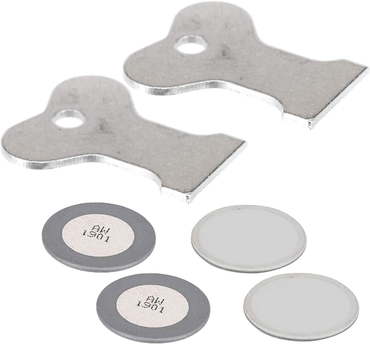 SPARES2GO Transducer Discs Disks for Dimplex Electric Heater//Fire Pack of 4