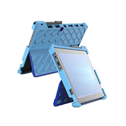 hot sales 28780 c65f0 Gumdrop DropTech Case Designed for Lenovo Miix 520 and Miix 510 2-in-1  Laptop for Commercial, Business and Office Essentials - Light Blue/Royal  Blue, ...