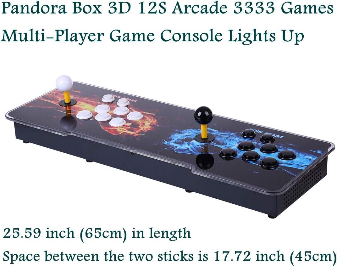 Amazon.com: Petforu 2650+20,000 Games Pandora Box 12S Arcade Multi ...