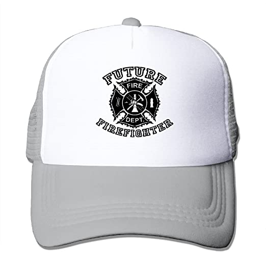 Future Firefighter Toddler Custom Hat One Size Fits Most Dancing Mesh Cap  Adjustable 6d97aeb02b8