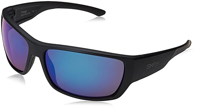 Smith Forge JY 003 64, Gafas de Sol para Hombre, Negro (Matt Black