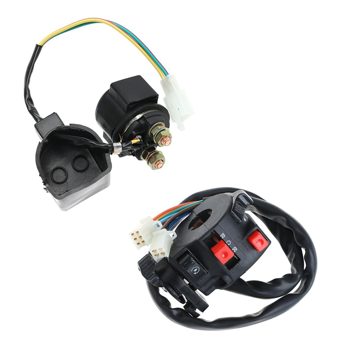 Annpee Complete Electrics Wiring Harness Wire Loom Magneto Stator Pit Bike For Gy6 4 Stroke Engine Type