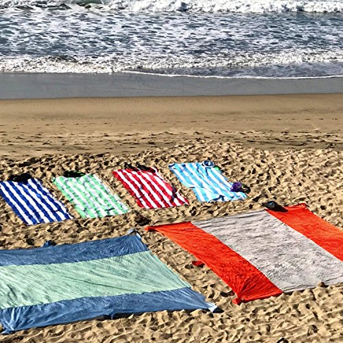Large Beach Blankets: Mega Sand Proof Beach Blanket – XXL Oversized Blanket