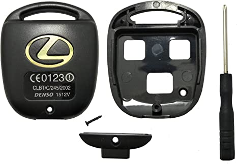Lexus Key Fob Replacement >> Horande Keyless Entry Remote Control Key Replacement Key Fob Case Shell Fit For Lexus Es Gs Gx Is Ls Lx Rx Sc Key Fob Cover Case Black