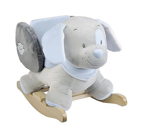 Dondolo Elefante Nattou.Nattou 604284 Dondolo Toby Il Cagnolino Amazon It Prima