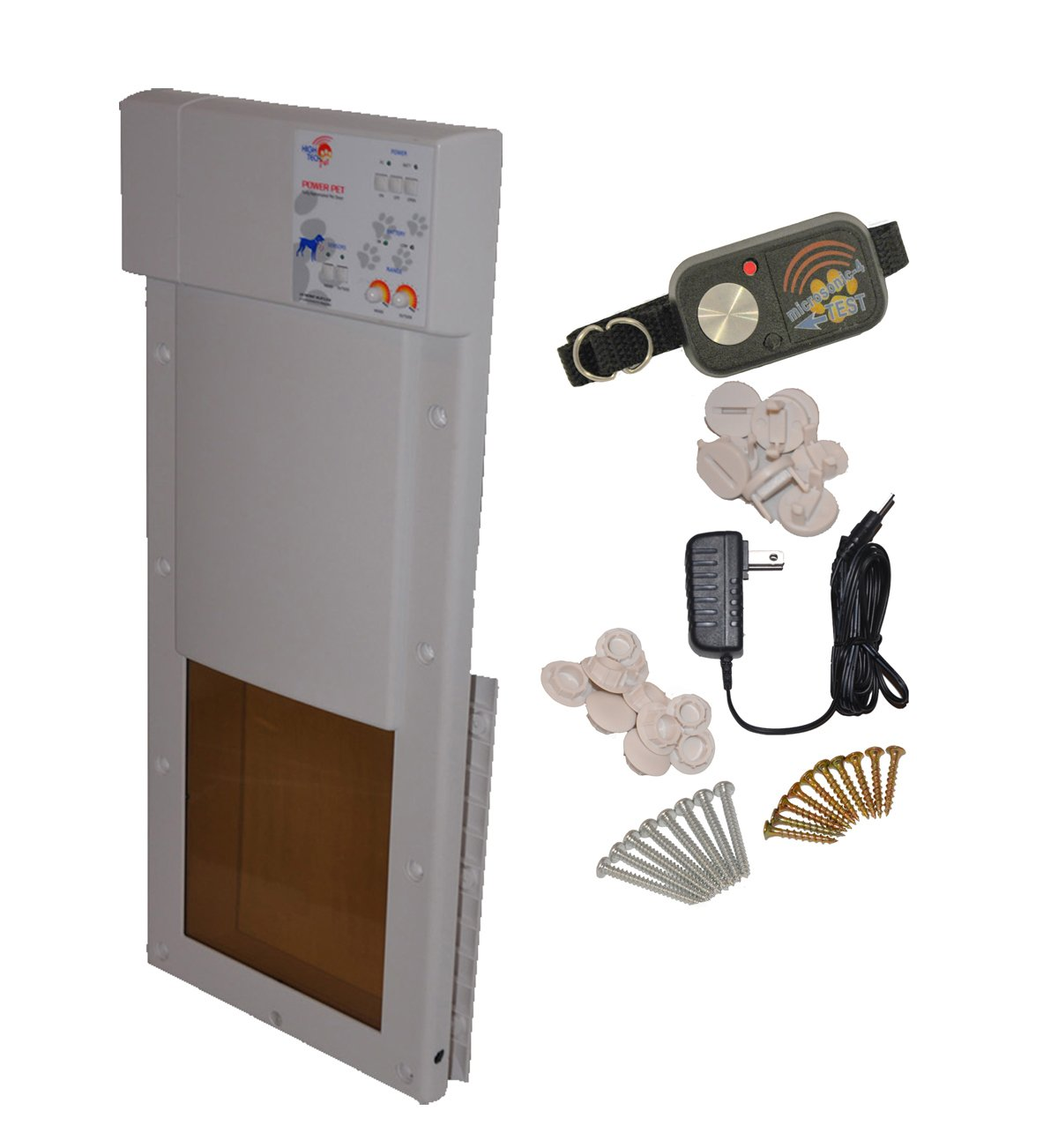 Power Pet Electronic Pet Door - Medium - PX-1 by High Tech Pet
