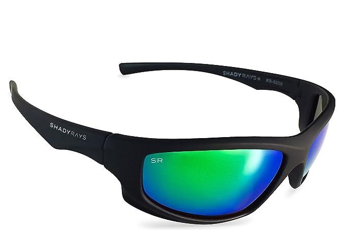 fdb99dbff6 Amazon.com  Shady Rays Polarized Sport Sunglasses X Series