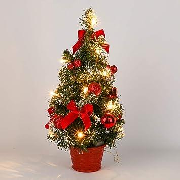 Image Unavailable - Amazon.com: Gsha Tabletop Pre-lit Christmas Tree Artificial Small