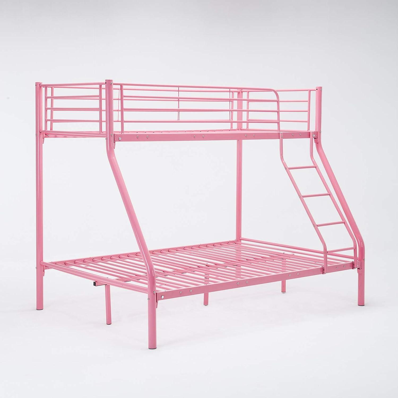 Mecor 3Ft Single 4Ft6 Double Metal Bunk Beds Triple Sleeper