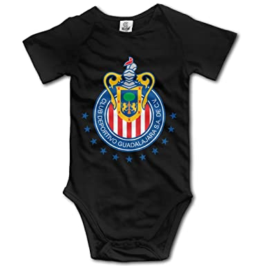 b35e5888362 Amazon.com: Club Deportivo Chivas USA Geek Short Sleeves Variety Baby  Onesies Romper For Babies: Clothing