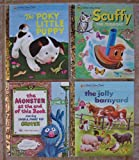 img - for Little Golden Books: Set of 4 Classics (The Poky Little Puppy ~ Scuffy the Tugboat ~ The Monster at the End of this Book starring Lovable, Furry Old Grover (Sesame Street) ~ The Jolly Barnyard) book / textbook / text book