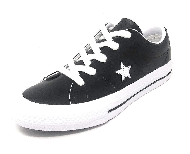 Converse One Star OX Black//White//White