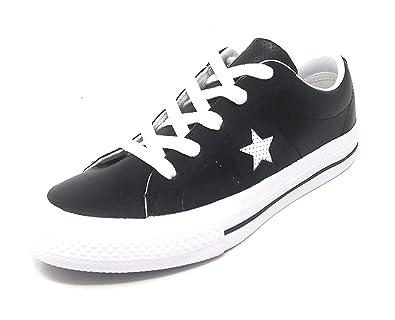 b570089cd7a0 Converse One Star OX Black White White (3 Child)