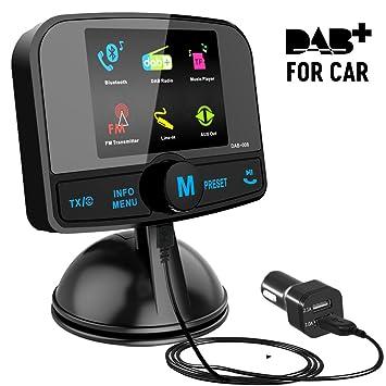 Dab Sender Karte.Bunter Bildschirm Dab Dab Autoradio Adapter Esuper Autoradio Mit Bluetooth Freisprecheinrichtung Dab Transmitter Fm Transmitter Aux In Out