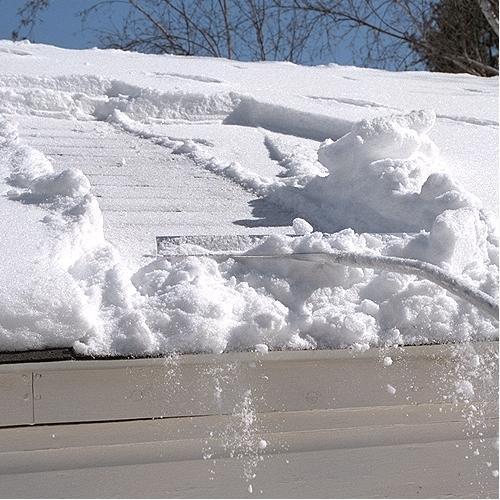 Snow Roof Rake 22in width 16ft length by Midwest Rake