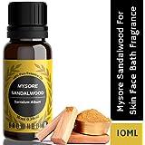 BrownBoi Pure Organic Sandalwood Oil For Hair Skin Face Body & Diffuser