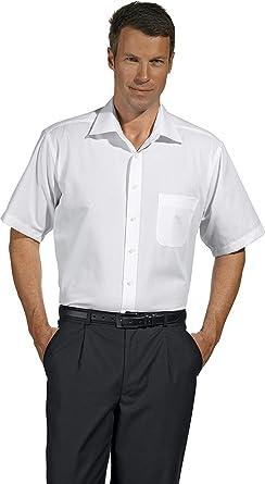 Camisa de caballero, manga corta, stretch: Amazon.es: Ropa y accesorios