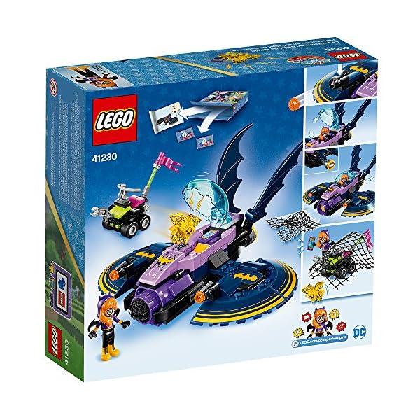 61HEfe0IwWL LEGO DC Super Hero Girls Batgirl Batjet Chase 41230 DC Collectible