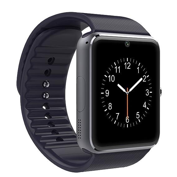 Shop Story – Smartwatch Reloj Inteligente Compatible Todos Smartphones Android y iPhone – Version negro