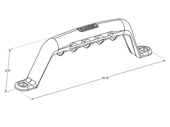 Amazon Com Carrs 210311 Light Bar For Tj Wrangler Black Powder
