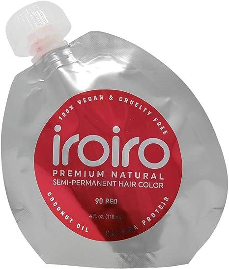 Tinte para el cabello Iroiro Premium Natural semipermanente ...