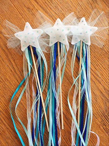 DIY Create Your Own Magic Fairy Wands Kit- Kids Craft, Blue from HappyPeople