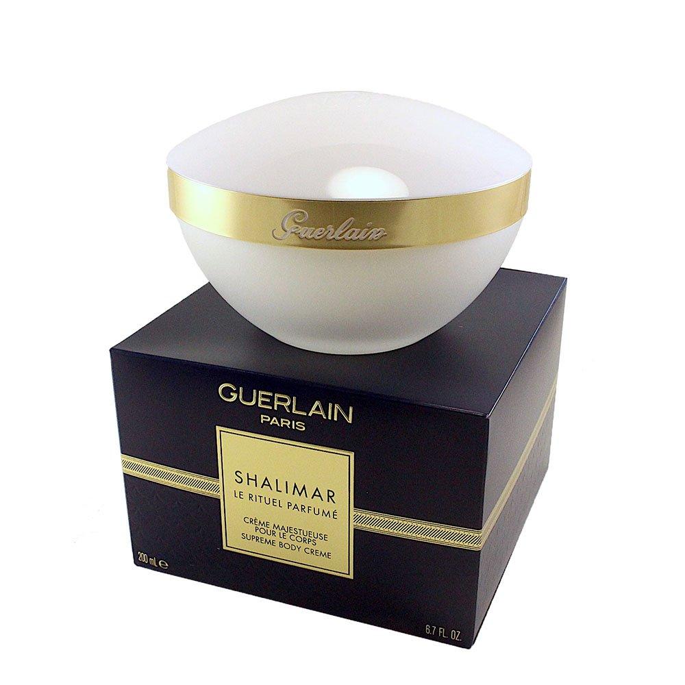Guerlain Shalimar Supreme Body Cream In Jar for Women, 6.7 Fl Oz Continental Cosmetique 3346470622234