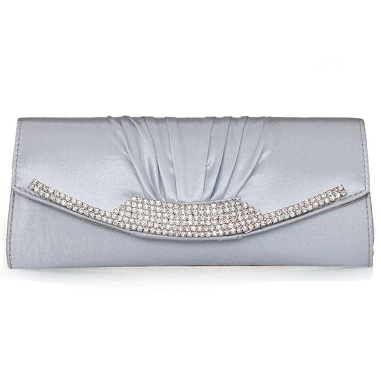 Abless Womens Glamour Elegant Evening Clutch Fashion Purse Chain Handbag -SK934