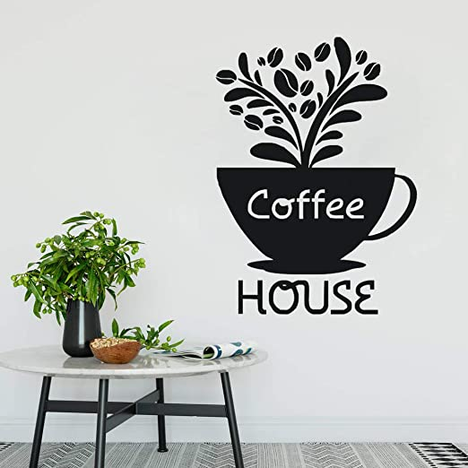 pegatinas de pared tortugas ninja Cafe Logo Coffee Bar Signo ...