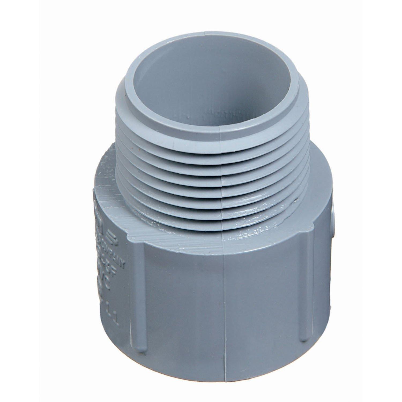 Carlon Lamson /& Sessons E943HR-CTN 1-1//2 Non Metallic Male Terminal Adapter Slip To Thread