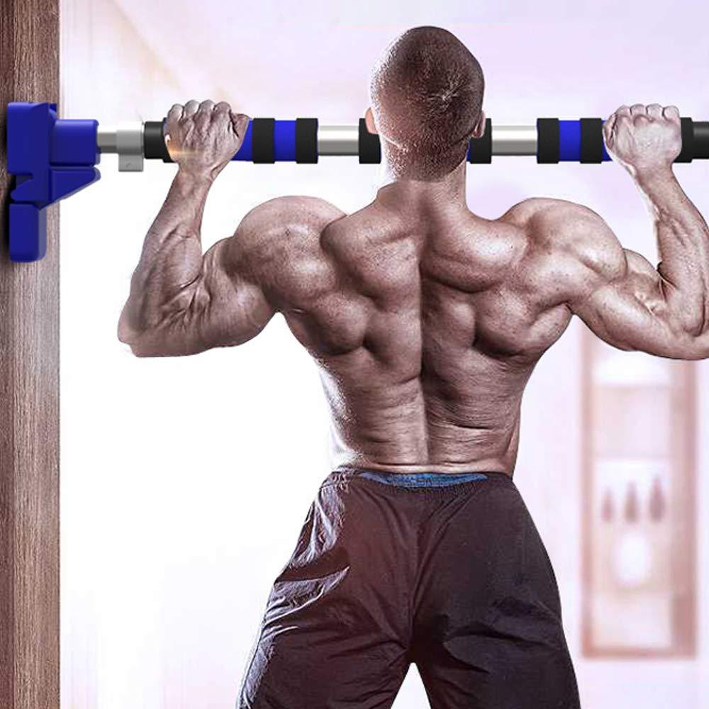 Grist CC Klimmzugstange,Individuell Einstellbar T/ürreck F/ür Effektives Training Der Oberk/örpermuskulatur,Reckstange f/ür Den T/ürrahmen Muskel-Oberk/örper,100//130cm