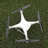 AerialTEK - 1 Pair UPGRADED Carbon Fiber Propeller for DJI Phantom 4....