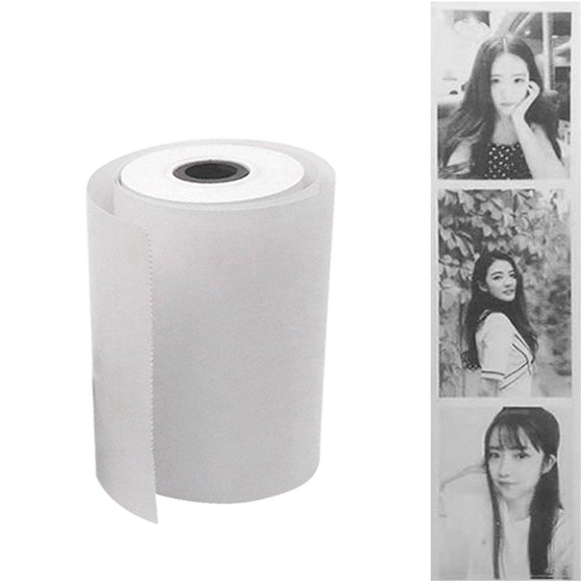 1 Roll Coreless Heat-Sensitive Paper Canvas Mobile POS
